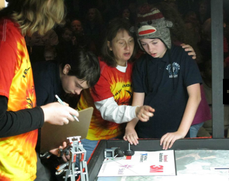 FLL Qualifier Teamwork