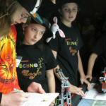 FLL Qualifier Taking Notes