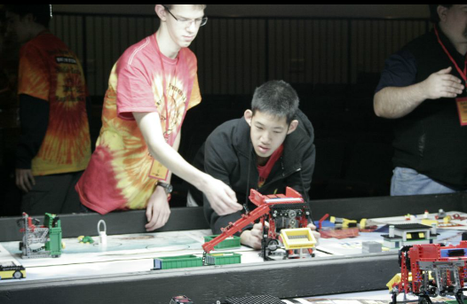 FLL Qualifier Setting up the field
