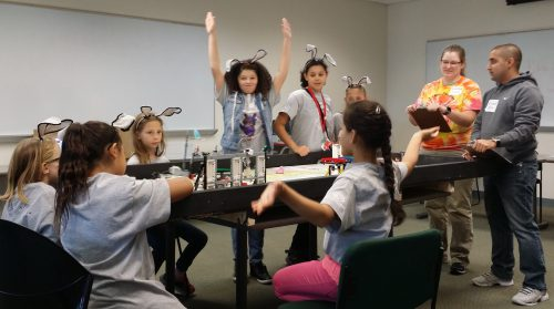First Lego League Team from Nashua Boys and Girls Club