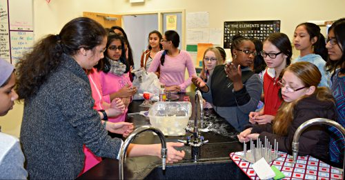 Women in STEM Workshop at the Academy for Science and Design