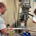 Mentoring in the machine shop