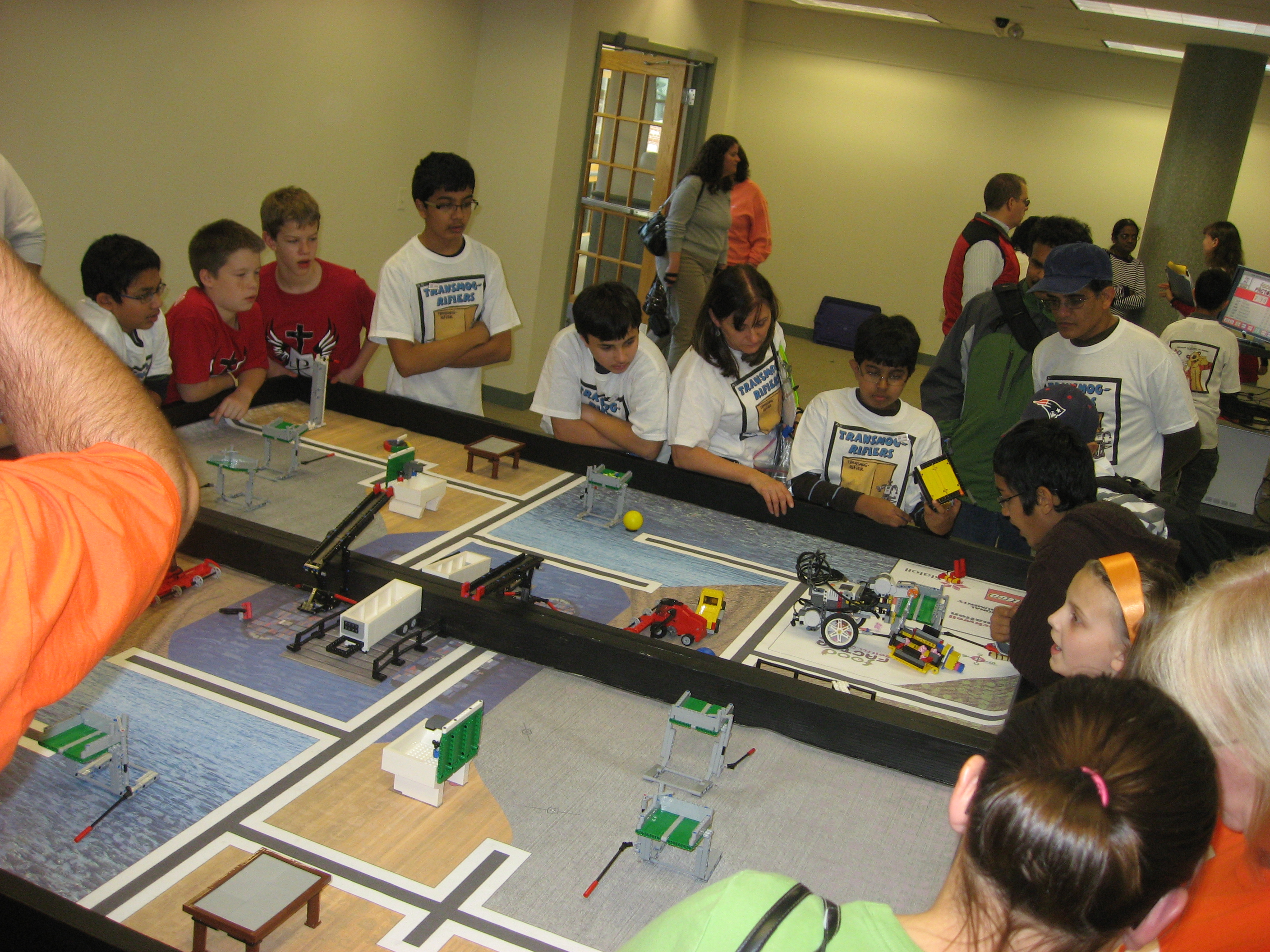 FLL Competition field