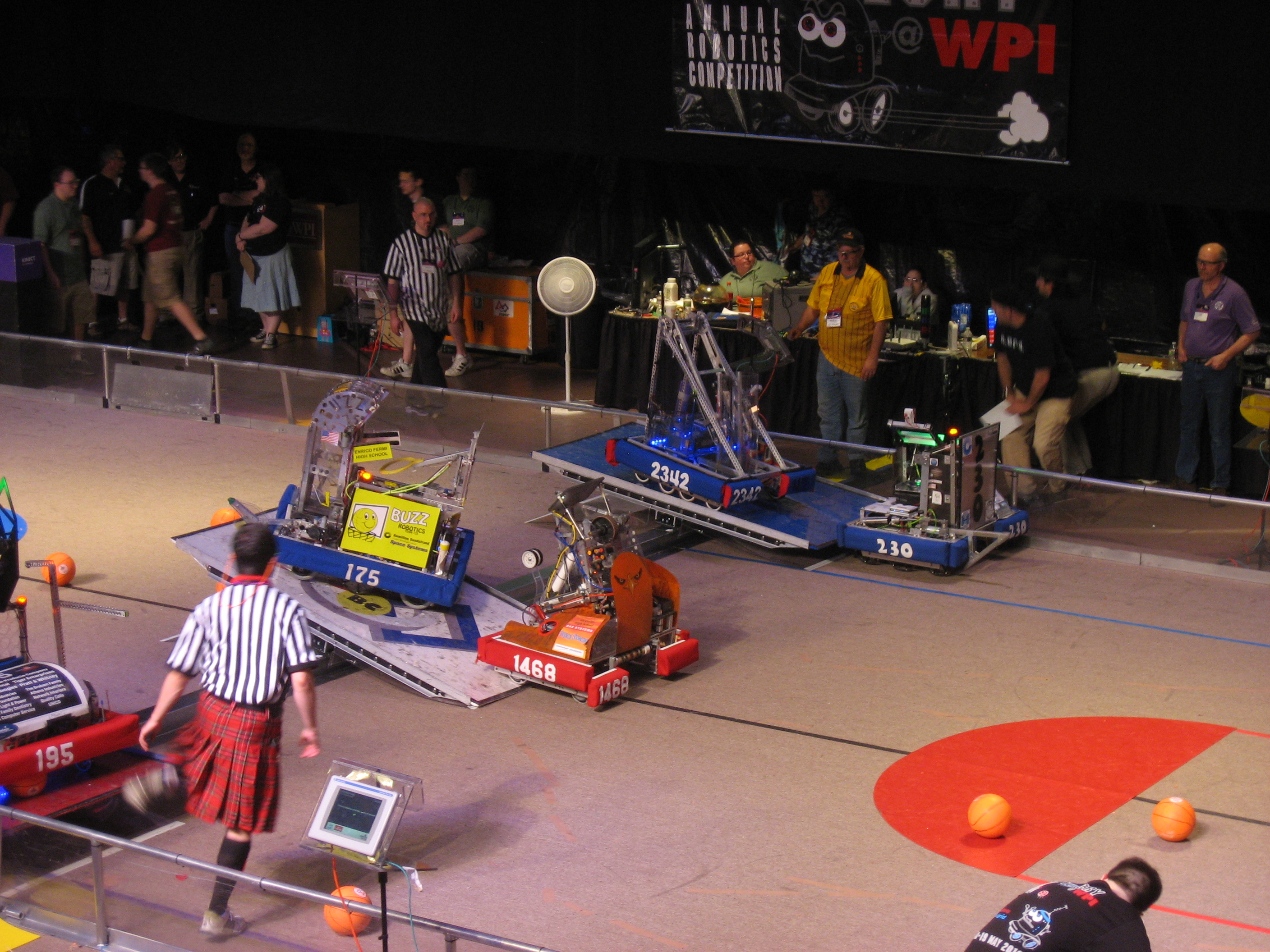 Competing Robots