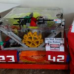 Our robot at the Hillsborough County 4-H Fair