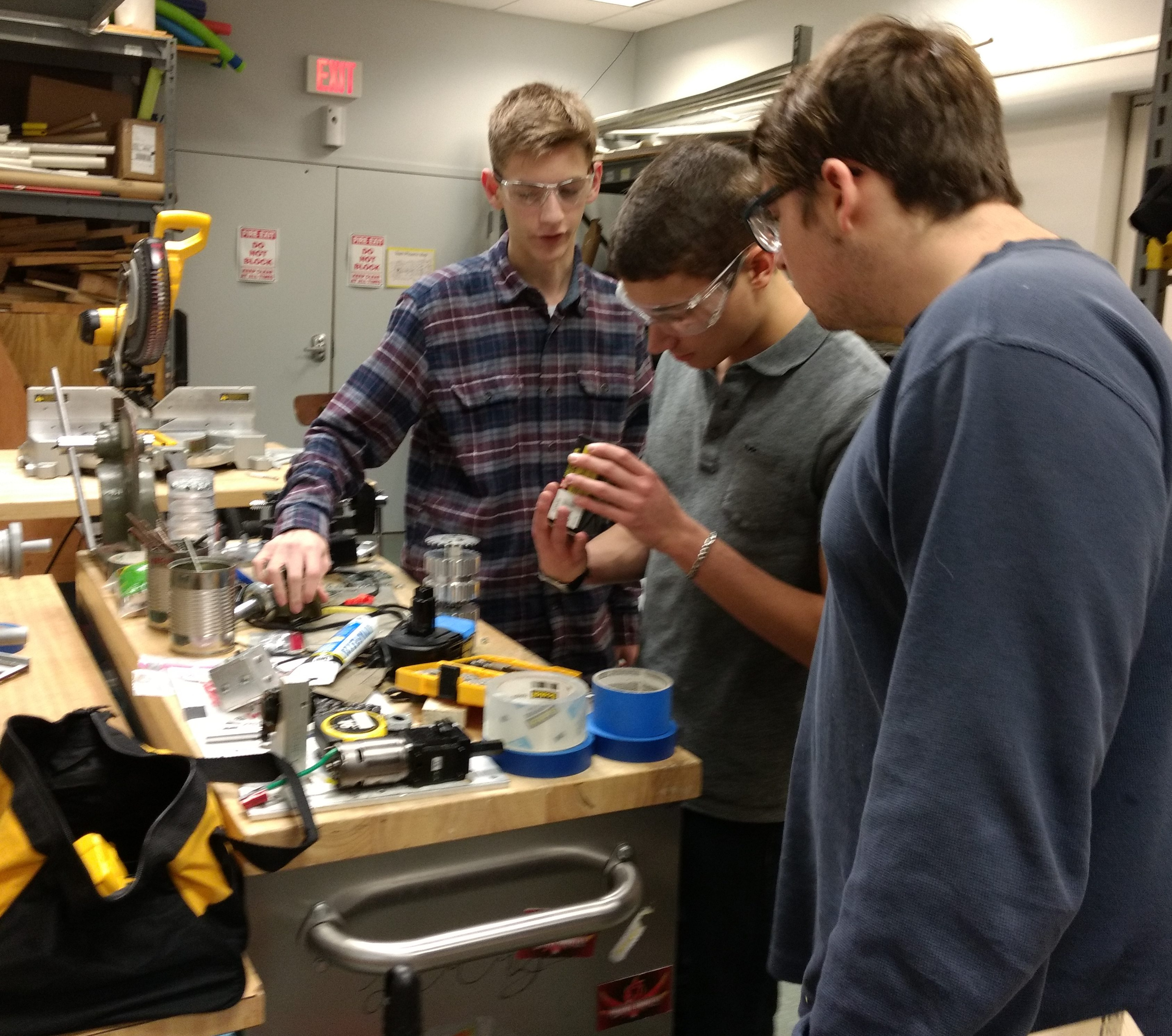 Mechanical in the machine shop
