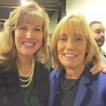 Senator Hassan and Amy, one of our Mentors