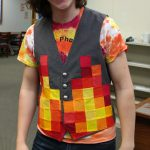 Drive Team Costumes- Pixelated Fire
