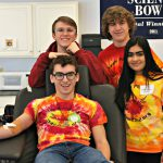 Team 2342 Students Volunteer at Blood Drive