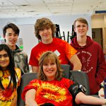 Team 2342 Volunteer at Blood Drive