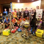 All of the FRC an FTC Robotics team at the ADI Conference
