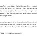 Judges Award