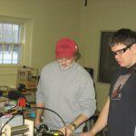 Wiring Team at Work