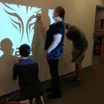 Stenciling the Logo